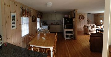Kitchen from family room....