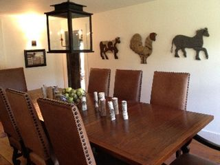 Woodstock farmhouse photo - Dining room