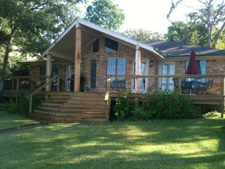 Cedar Creek Lake house photo - Relax on our new deck with a beautiful view of the lake