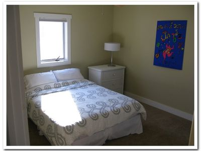 lower level queen bedroom