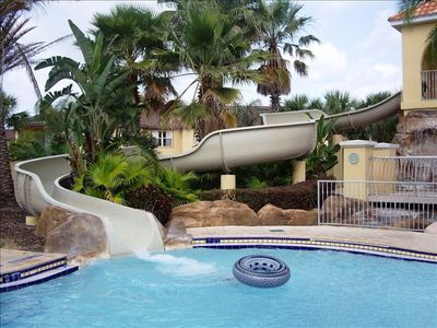 Regal Palms townhome rental - Waterslide - don't you wish you were here!
