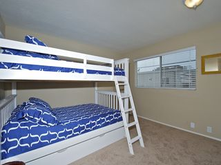 Mission Beach house photo - Lower unit - Bunk bed w/double/double/twin
