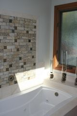 Solana Beach house photo - Jetted spa bathtub in zen surrondings.