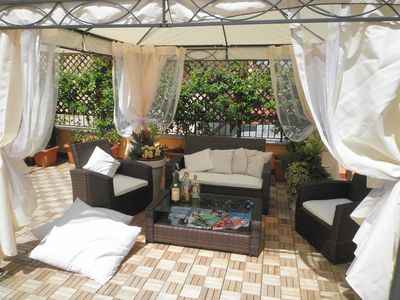 Nearby St. Peter, private parking, courtyard and solarium with barbecue.