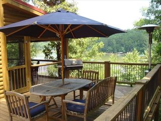 Hartwell Lake house photo - Outdoor Deck Area