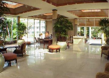 Concierge Desk and Lobby