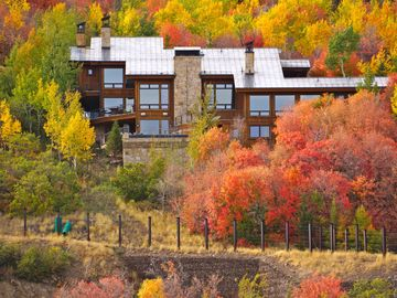 Deer Valley house rental - Fall at Deer Crest Luxury Estate