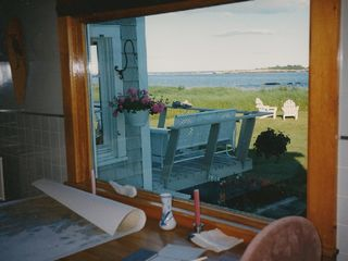 Corea cottage photo - Kitchen Window View