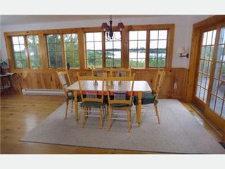 Lunenburg cottage photo - Dining Room with Water Views