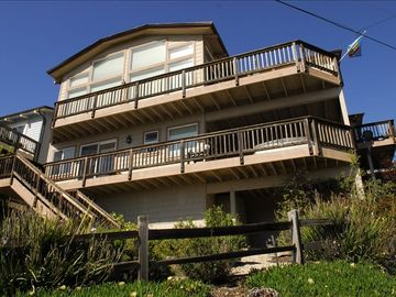 Cambria house rental - Ocean Views from these decks!