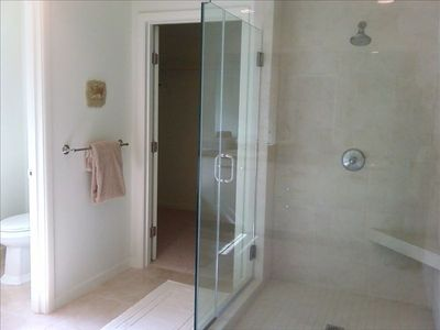 Shower in Master Bath