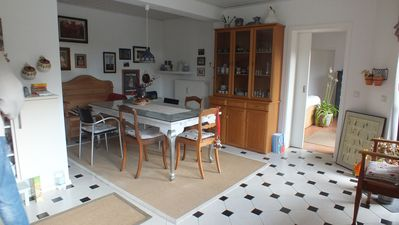 Sunny location, peace and relaxation in 90 m2 large tasteful apartment