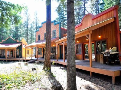 Lake Cle Elum lodge rental - Chiwa Lodge! - Chiwa Lodge during early Spring!