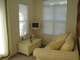 El Centro Beach house photo - Secluded and cheerful sitting area in master bedroom. Escape when you need it!