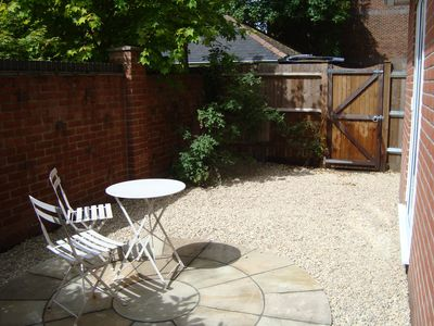 Winchester apartment rental - Communal Garden