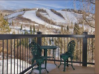 Steamboat Springs condo photo - Zoomed Out Winter Balcony View