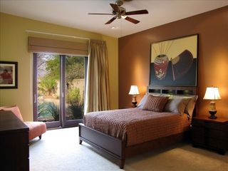 Tucson house photo - master suite overlooks oasis yard