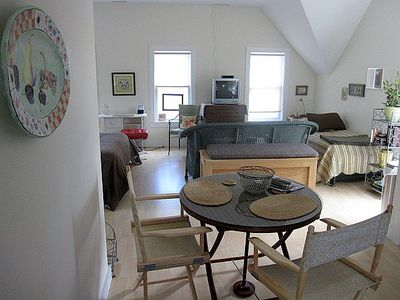 West Tisbury studio rental - View on entering the studio