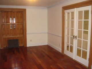 Brooklyn townhome photo - Gorgeous cherry hardwood & french doors exposed while unfurnished.
