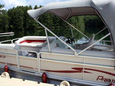 pontoon boat with full week rental