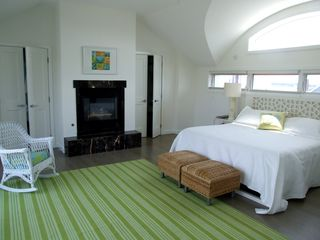 High Bar Harbor house photo - Master Bedroom with a fabulous view and private deck!