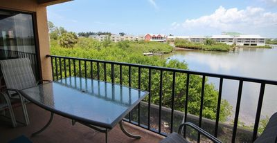 Enjoy the Laid Back Indian Shores Community in this Roomy 2 Br Condo with Lovely Intracoastal View!