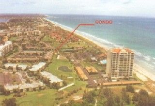 Condo is about 75 yds. from Ocean