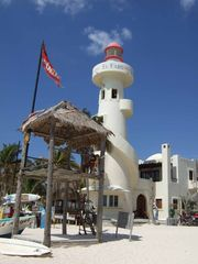 Playa del Carmen condo photo - The famous El Faro light house