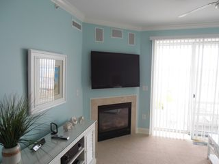 "Belmont Towers Ocean City condo photo - 55 "" LED TV IN LIVING ROOM"