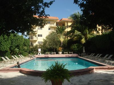 South Beach apartment rental - Pool area