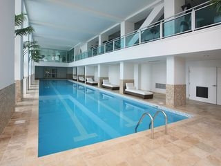 Cupecoy condo photo - 25m indoor lap pool and state-of-the-art gym above