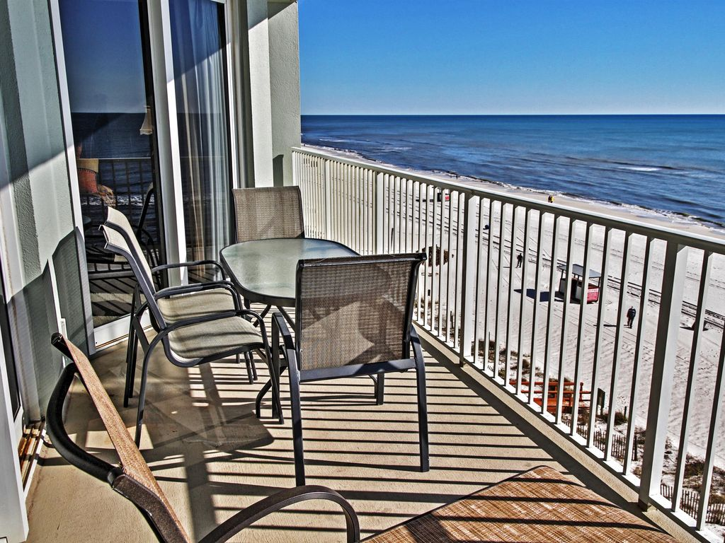 Wonderful Beachfront 4br Panama City Beach Vrbo