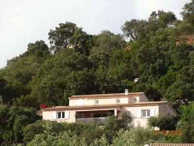 Comfortable villa rental 8 to 10 people in Tarco South Corsica seaside