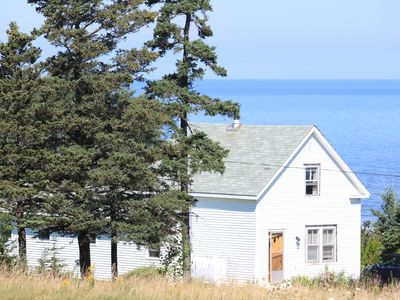 Views of Bay of Fundy in Margaretsville, Nova Scotia