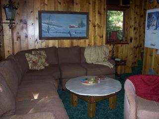Lake Rescue chalet photo - Living Room