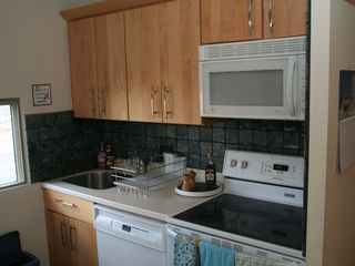 Warren condo photo - New kitchen appliances. Window has view to Mad River Valley.