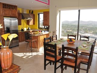 San Jose del Cabo condo photo - Well-equipped kitchens, corner's side windows with mountain & sea views!