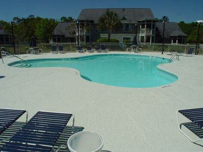 Enjoy our private and quiet community pool, just steps from the condo.