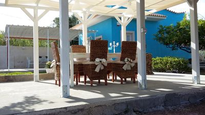 Entirely renovated chalet shabby chic style. At 70 meters from the sea.