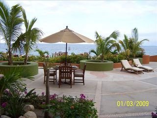 Los Barriles condo photo - The terrace is great for outdoor dining and relaxation