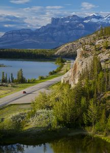 Drive to your Chalet through the beautiful Jasper National Park