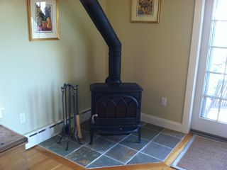 Provincetown condo photo - Wood Burning Stove