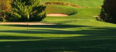 Canandaigua house rental - Hole six on the adjoining golf course.