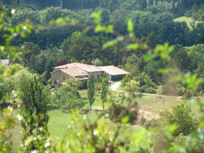 Apartment in stone house surrounded by nature, garden, biotope, 1.5 km from the lake