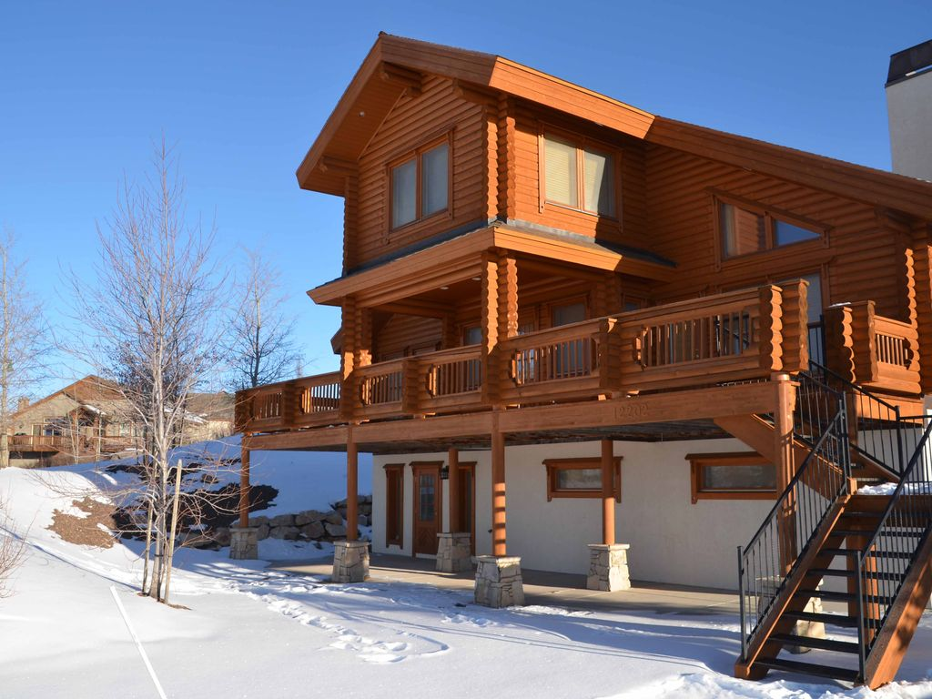 Amazing Log Home Less Than 15 Minutes From Park City Mountain