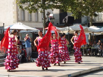 Spanish week, Place Carnot