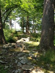 Bushkill house photo - View on the rocky path to the lake