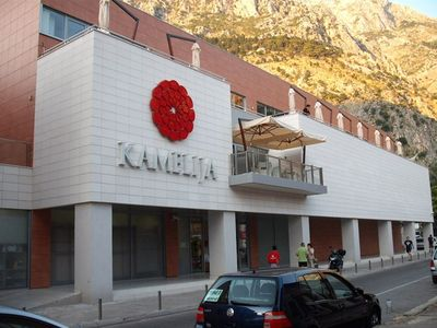 Kotor apartment rental - Kamelija Centre ( 300 meters from Apt)