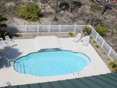 Plenty of room in this pool and deck for your entire family and guests!