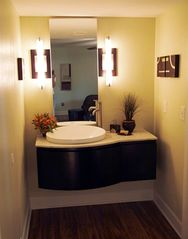 Old Town Scottsdale condo photo - Marble countertop for the master bathroom vanity area.